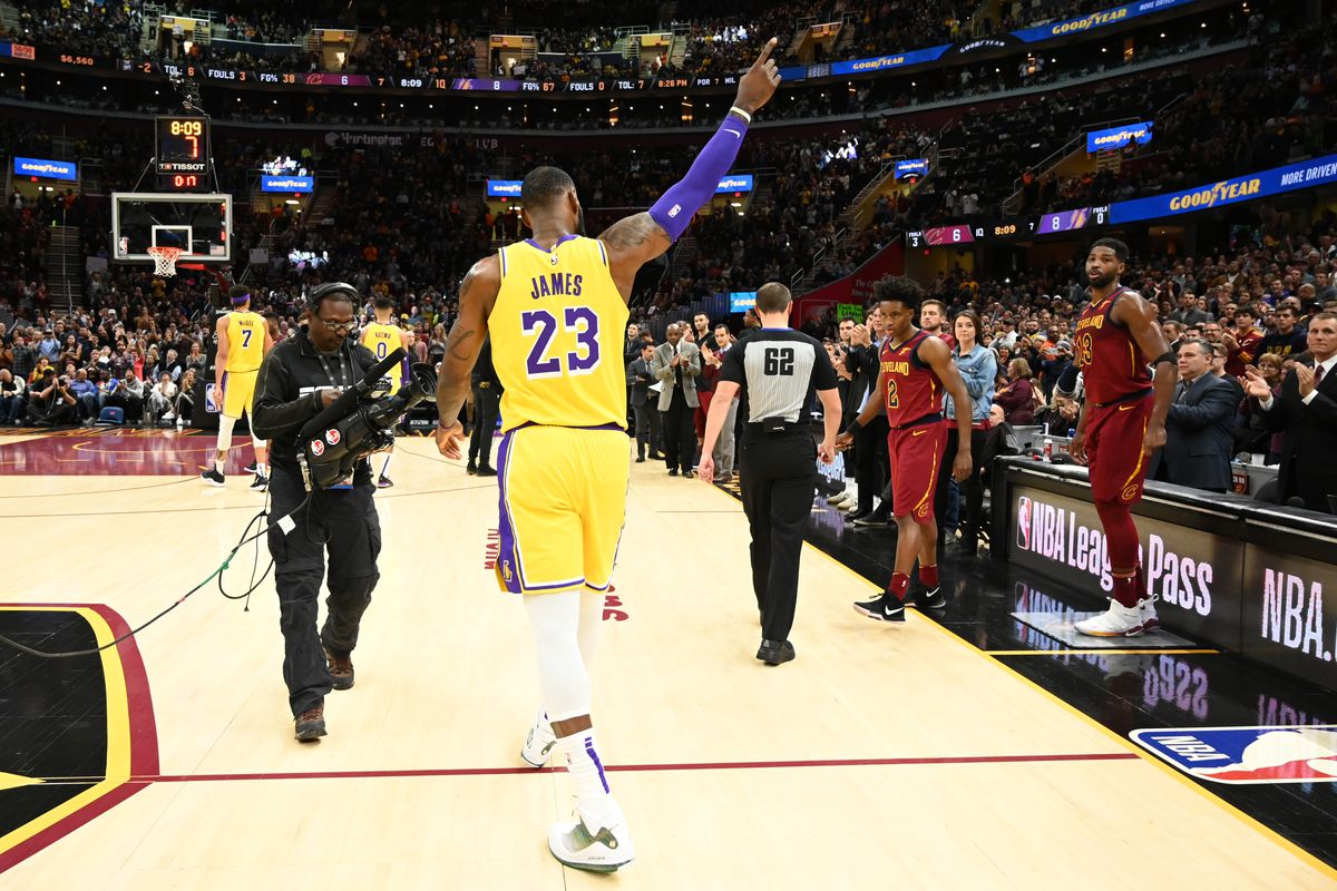 finest selection 44982 84551 Photo by Jason Miller Getty Images. LeBron James made his return to  Cleveland ...