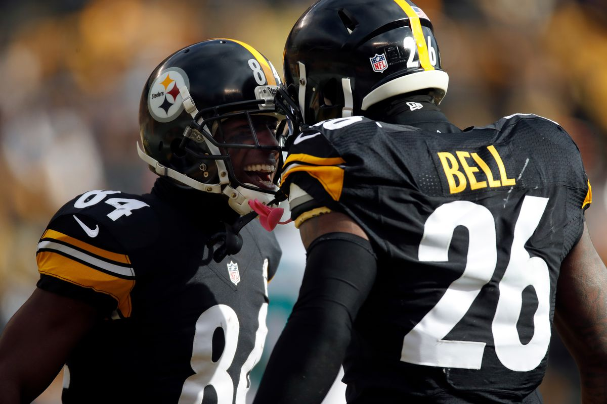 Antonio Brown and Le'Veon Bell are superheroes, and they ...