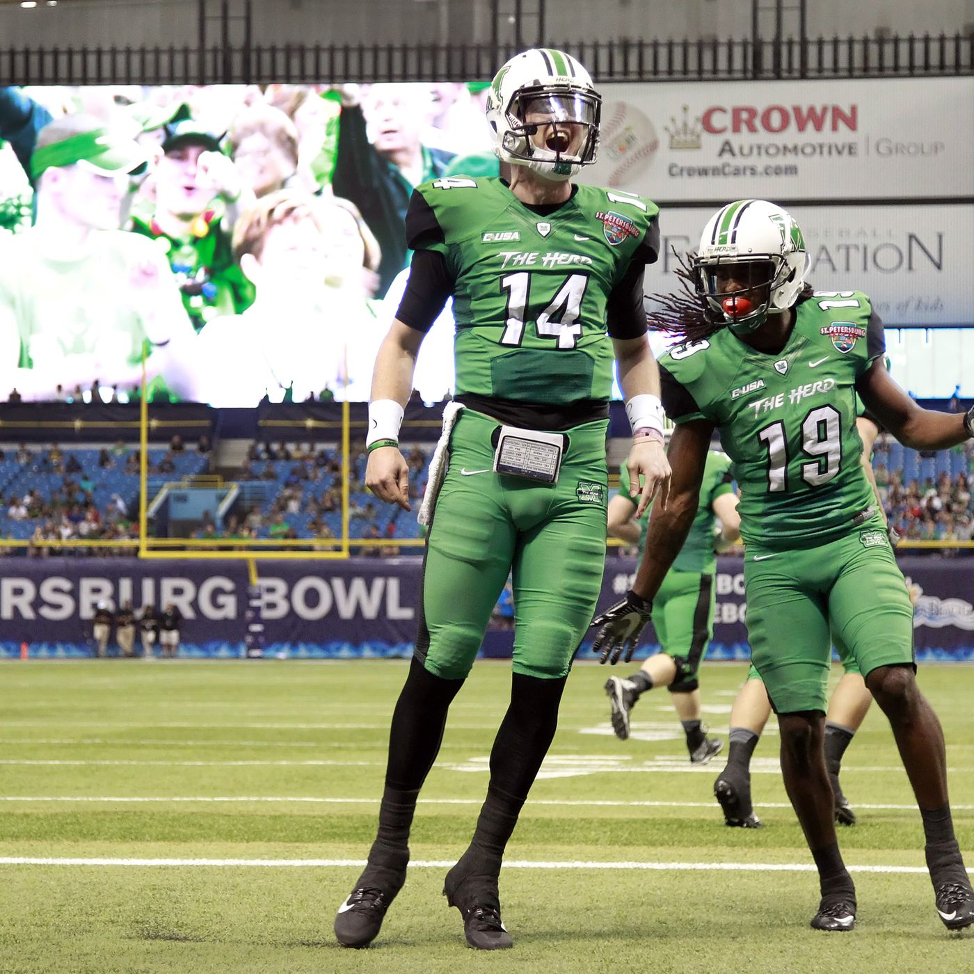 Marshall Football Is Reloading But A Good 2016 Should Lead To A Great 2017 Sbnation Com