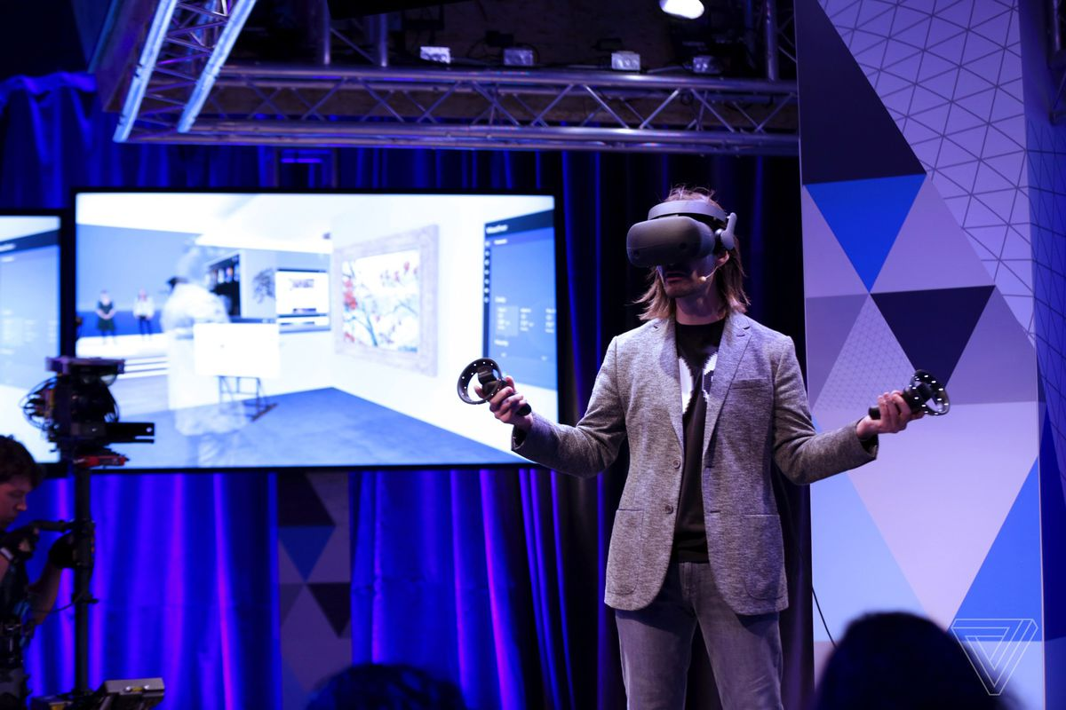 Samsung S Windows Mixed Reality Headset Feels Like An