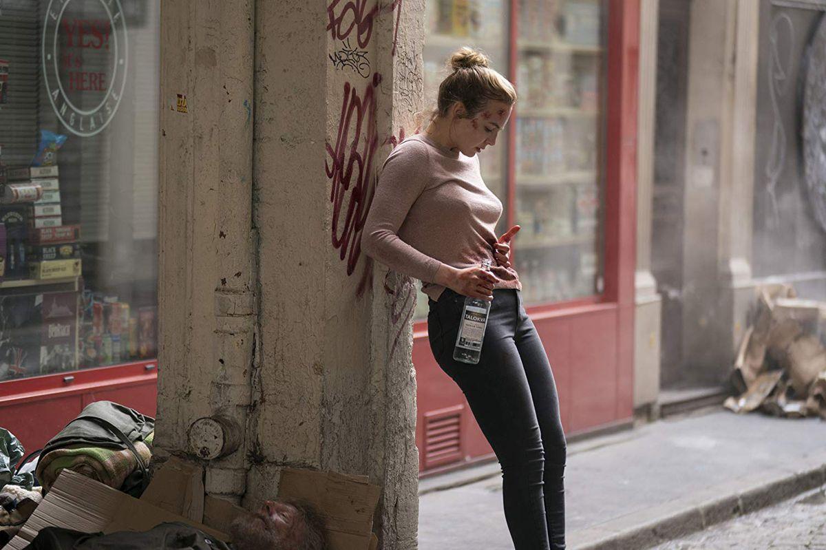 Jodie Comer as Villanelle on Killing Eve