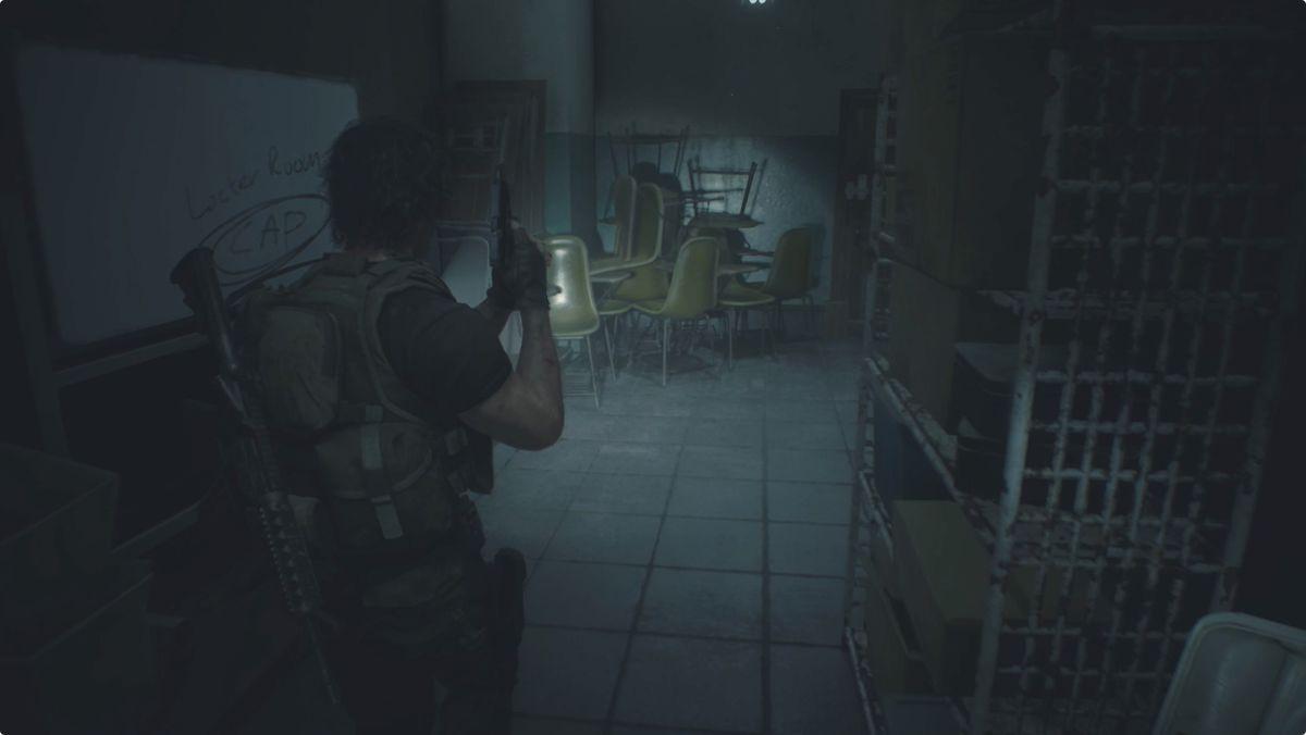 Resident Evil 3 Carlos Police Station Operations Room Shower Room Locker code