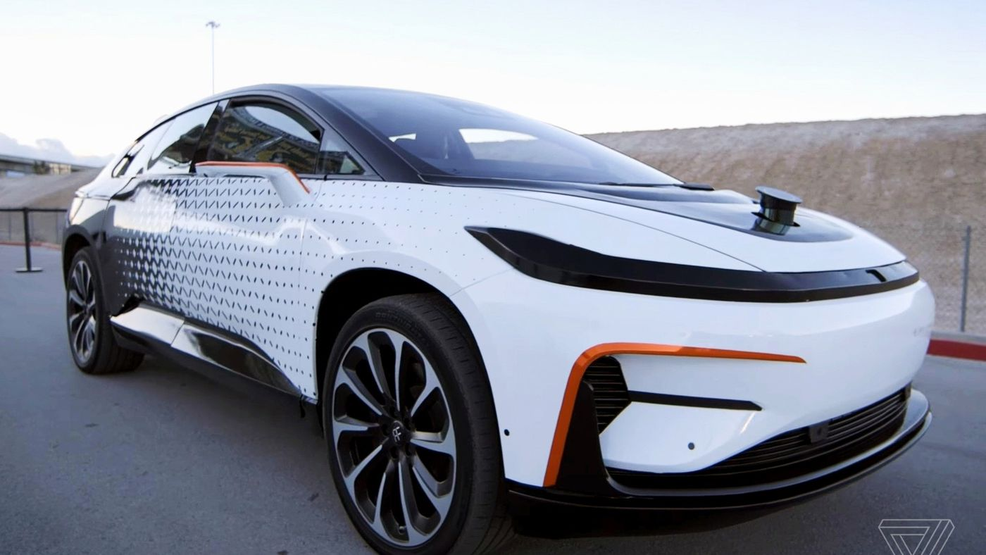 Faraday Future Strikes Deal To Make Cars In China With Mobile Gaming Company The Verge