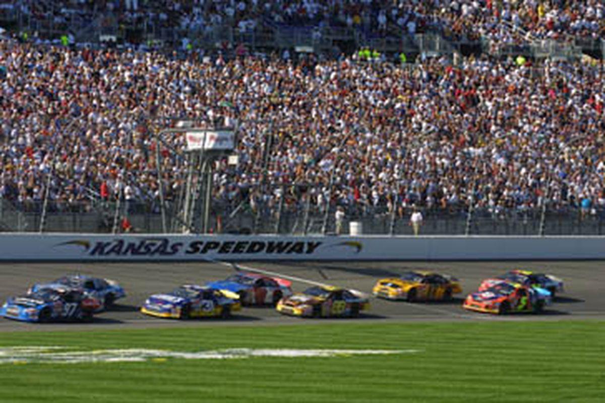 Kansas Speedway in Kansas city, Kan.