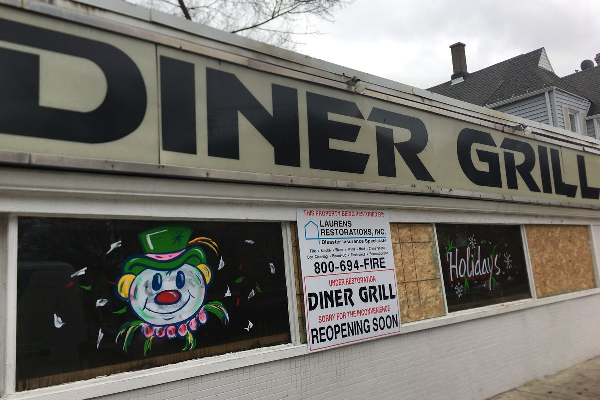 The Diner Grill needs some TLC.
