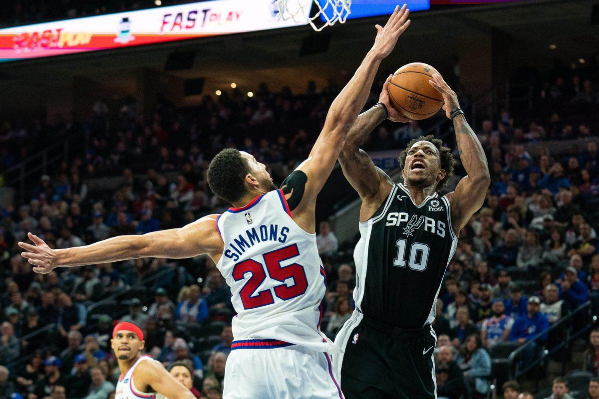 Game Preview: San Antonio Spurs vs. Philadelphia 76ers - Pounding The Rock