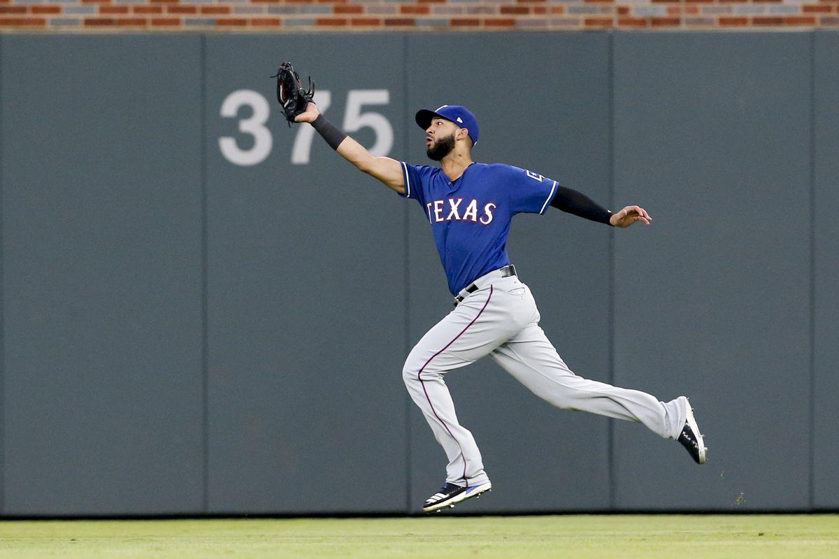 MLB: Texas Rangers at Atlanta Braves