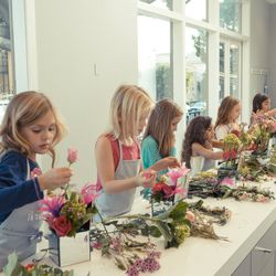 Fleurish also hosts a Petite Fleurists event where kids and teens can join in on the floral fun.