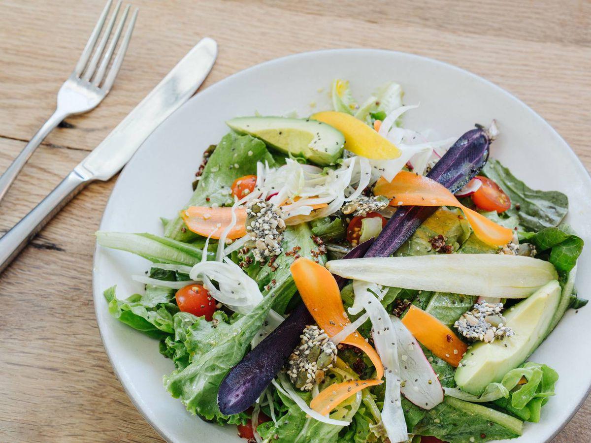 A salad at Cafe No Se