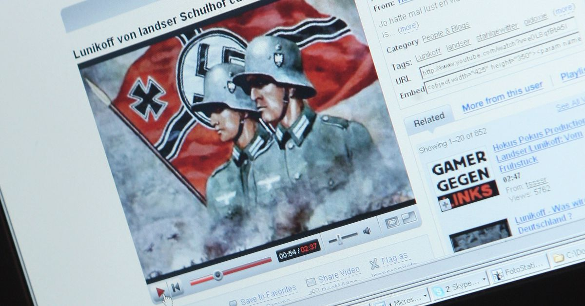 YouTube finally banned content from neo-Nazis, Holocaust deniers, and Sandy Hook skeptics