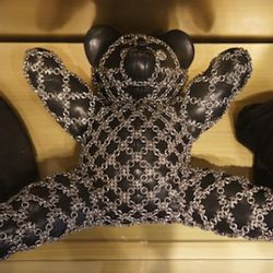 Chrome Hearts leather teddy bear is a staff favorite