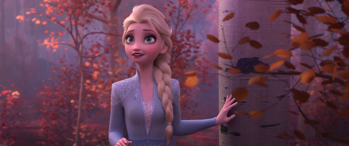Frozen 2 How Anna And Elsa S Cgi Costumes Are Designed And Animated Vox
