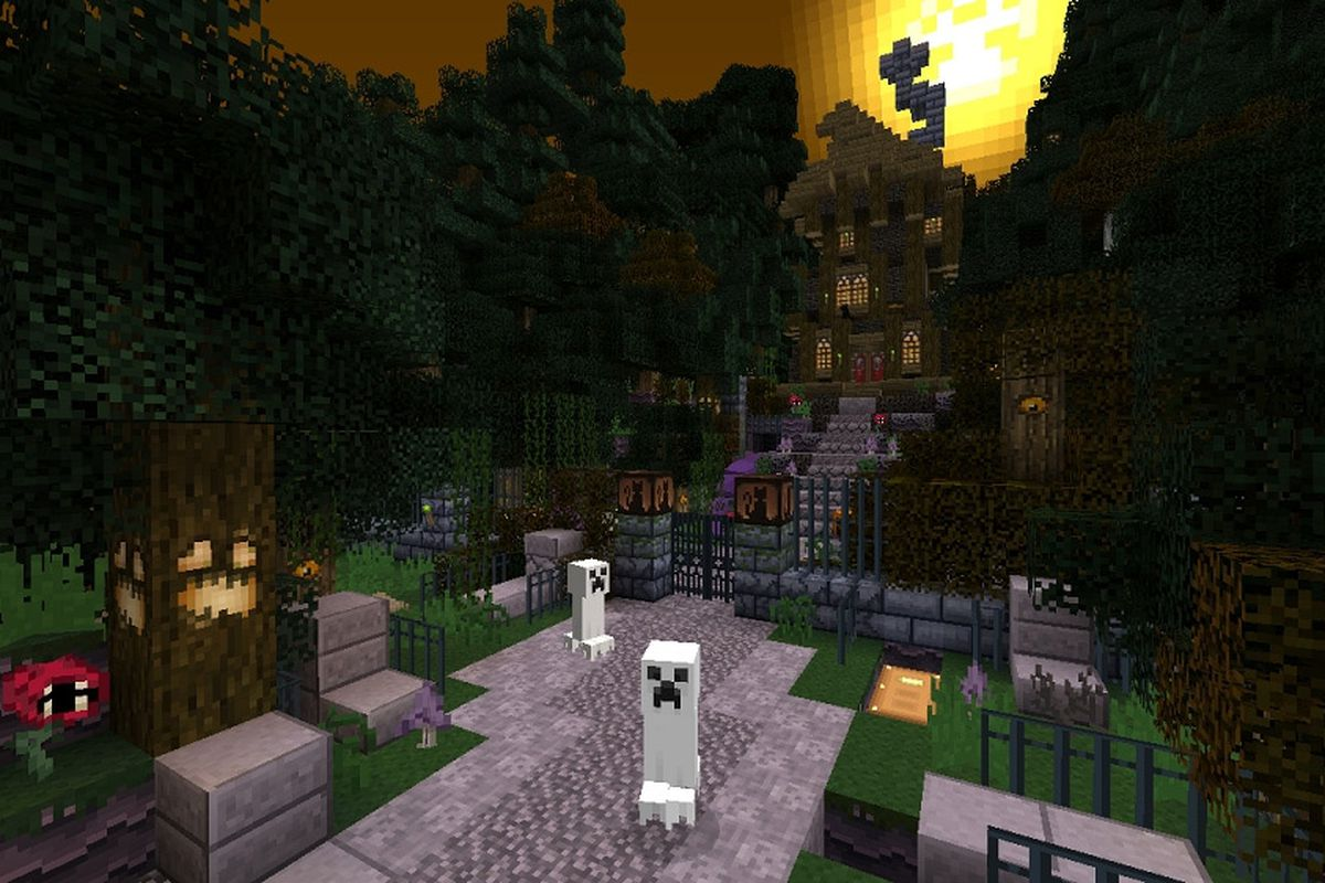 minecraft xbox 360 edition gets free halloween texture pack - Halloween Xbox 360