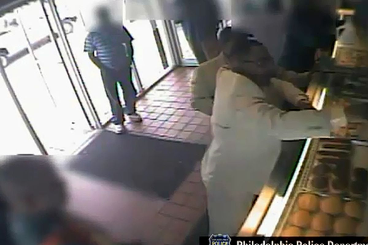 Man attacks woman with coffee in West Philly.