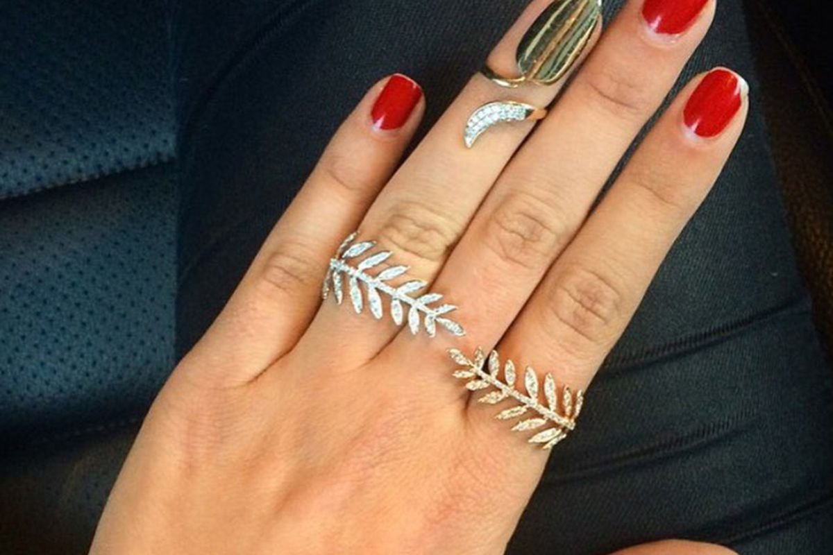 These Gigi Hadid-Approved Nail Rings Are The Next Big Thing - Racked LA