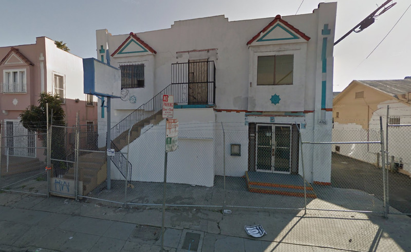 4760 Melrose Avenue as it looks today.