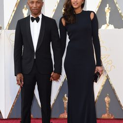 Pharell Williams and Lasichanh. Photo: VALERIE MACON/Getty Images