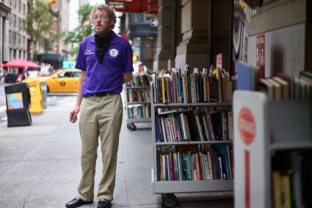 Will Bobrowski, shop steward for The Strand's employee union, says a rush to re-open the storied bookstore left workers and customers vulnerable.