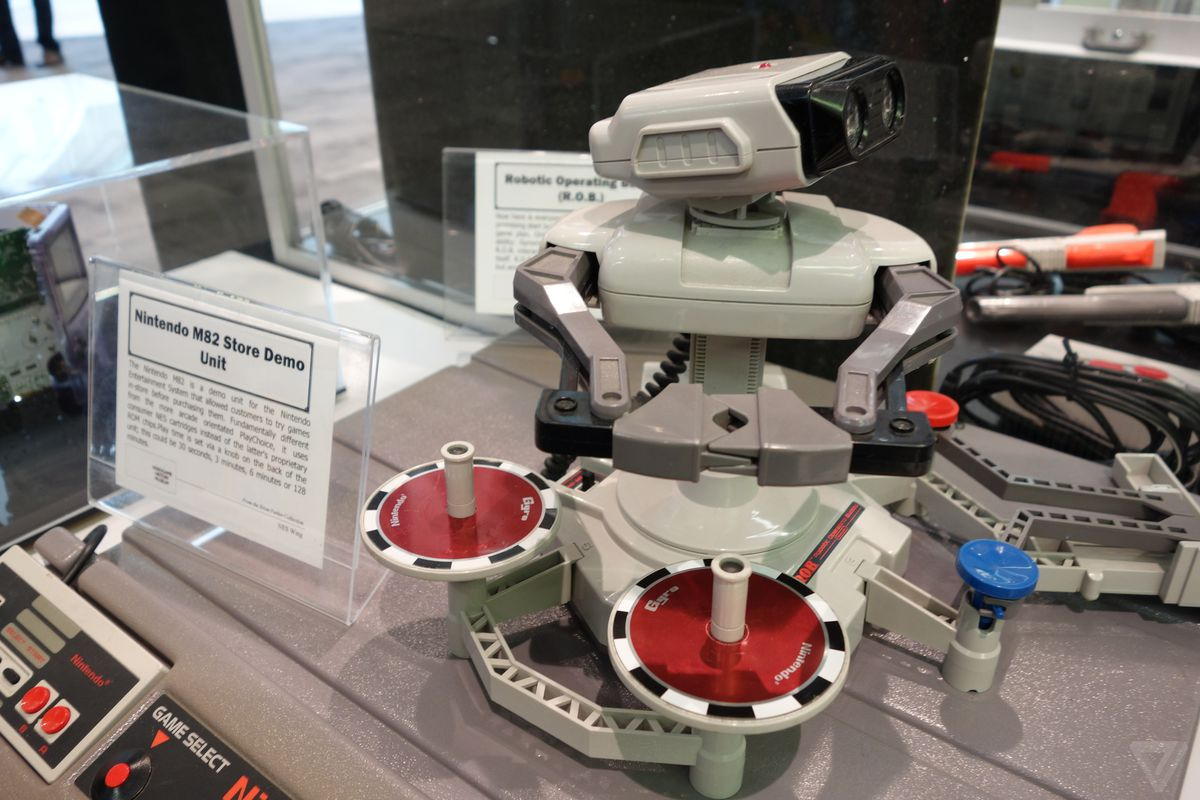 Nintendo museum GDC ROB test unit