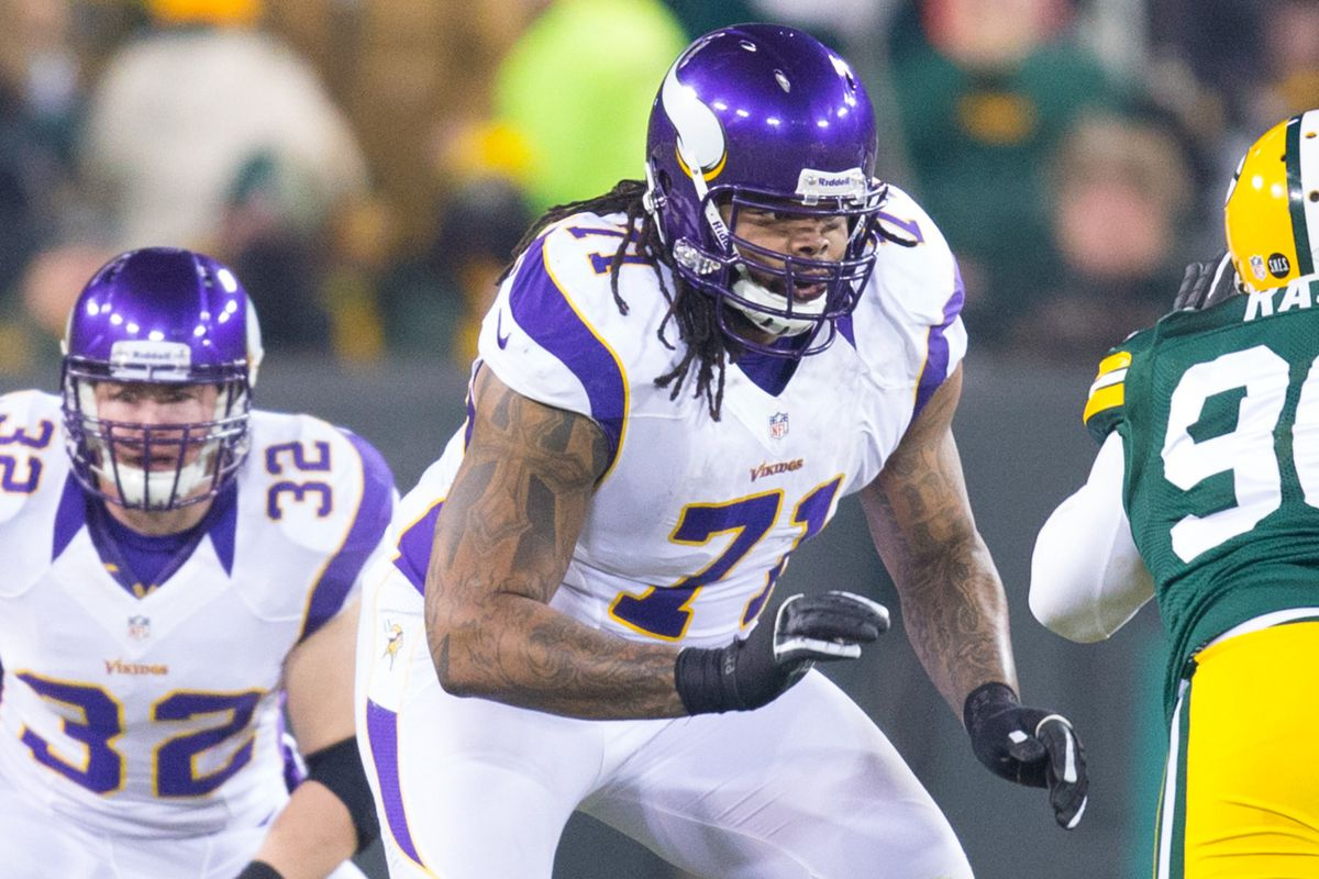 According to Peter King, Phil Loadholt is the only free agent on the Vikings in the top 50.