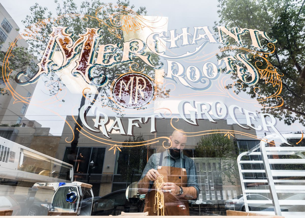 Fine Dining Meshes With An Artisanal Market At Merchant