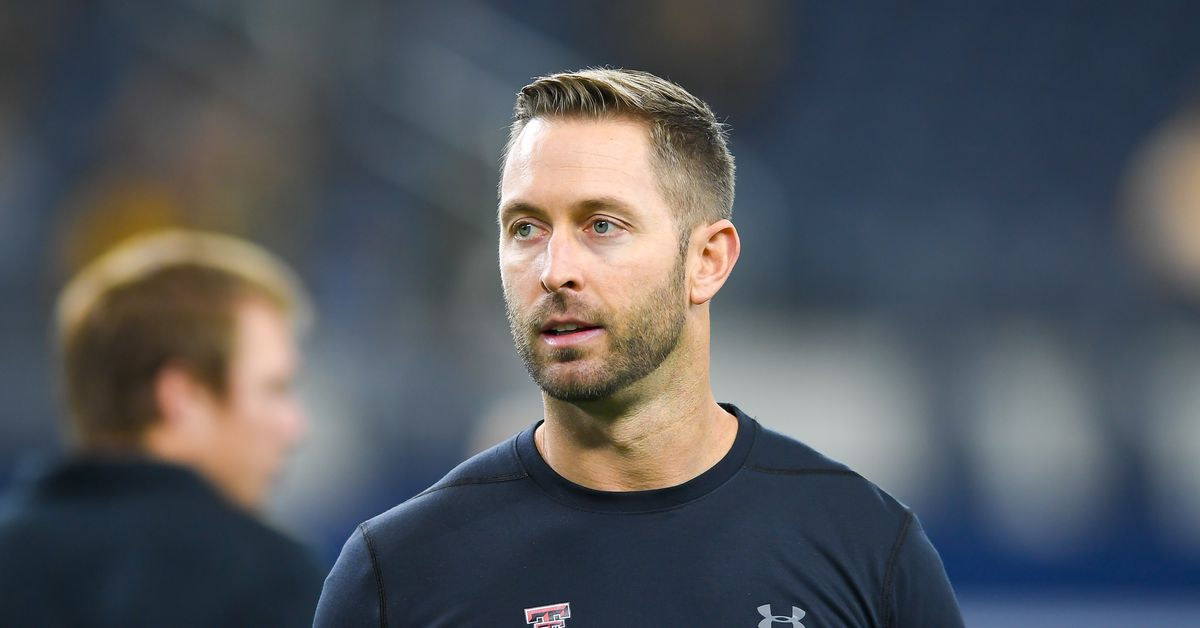 kliff kingsbury to interview with jets for head coaching job
