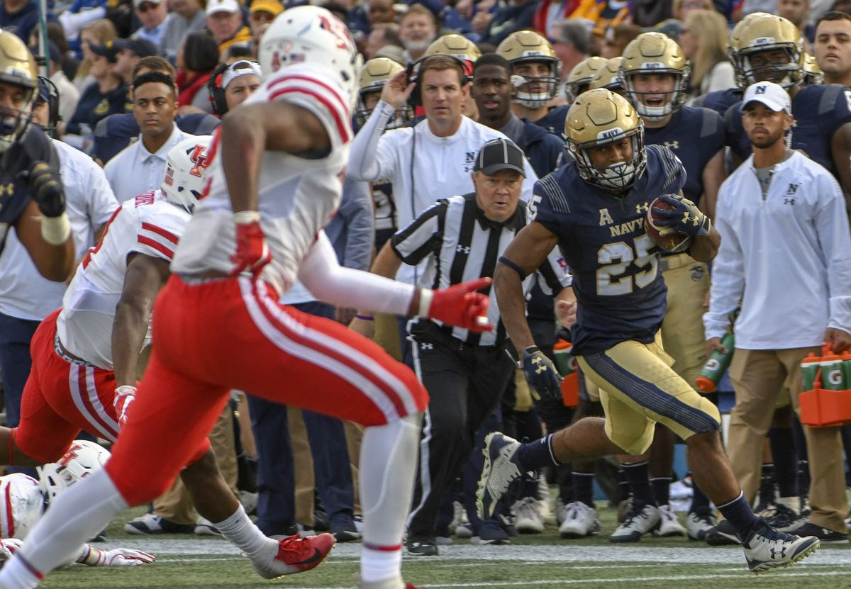 COLLEGE FOOTBALL: OCT 20 Houston at Navy