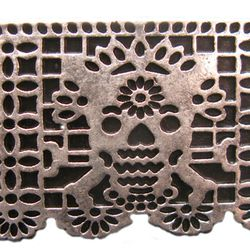 Pamela Love Day of the Dead silver ring (was $70, now $35)