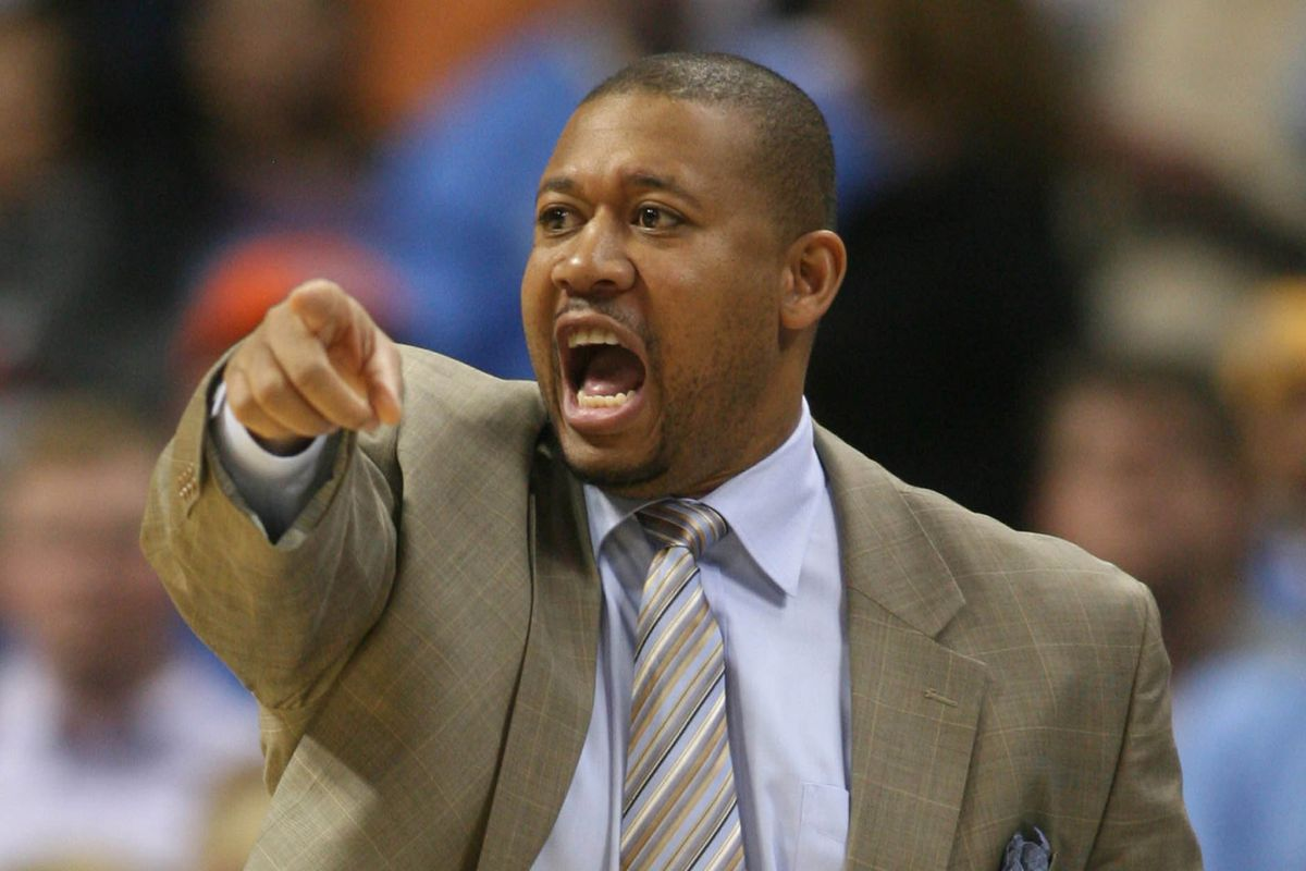Melvin Hunt has two key coaching skills: pointing and yelling!