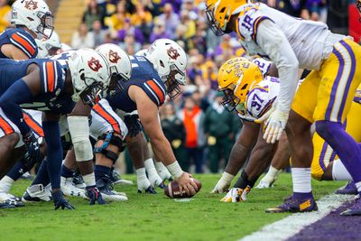 COLLEGE FOOTBALL: OCT 26 Auburn at LSU