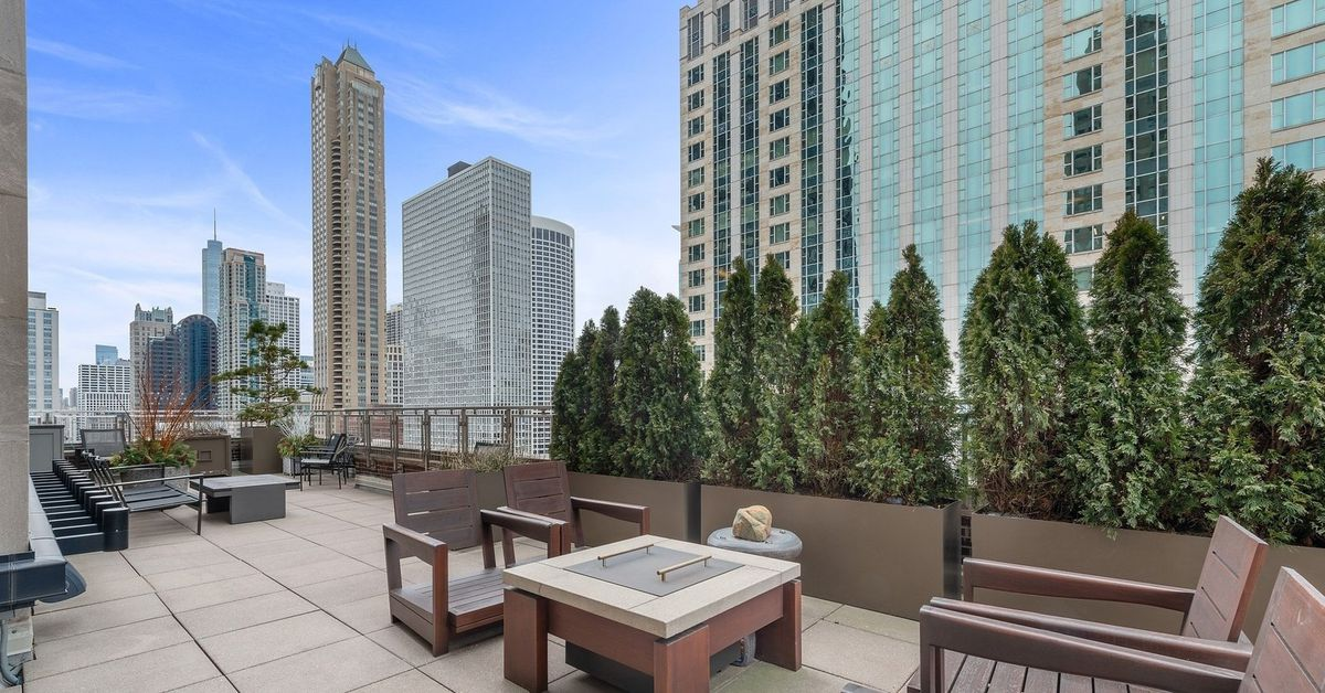 Half-floor condo in the Palmolive Building has a huge private terrace for $7.35M