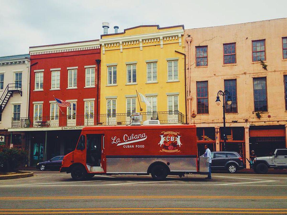 La Cubana, a great new food truck in New Orleans.