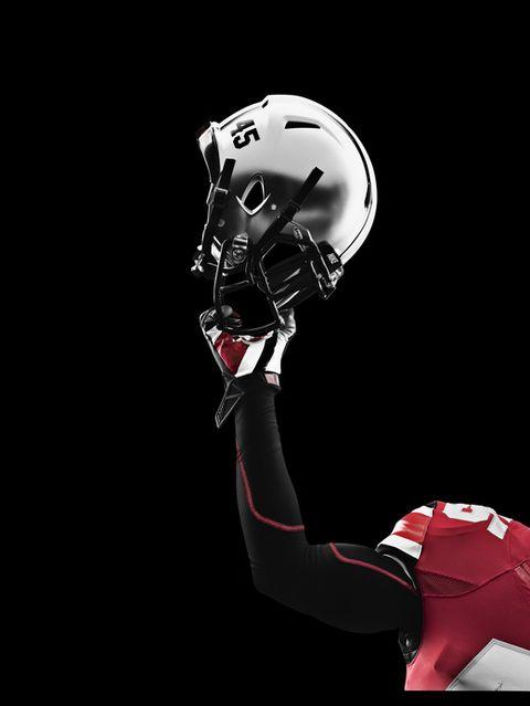Allison #9 Ohio State Buckeyes Football Jersey - Red