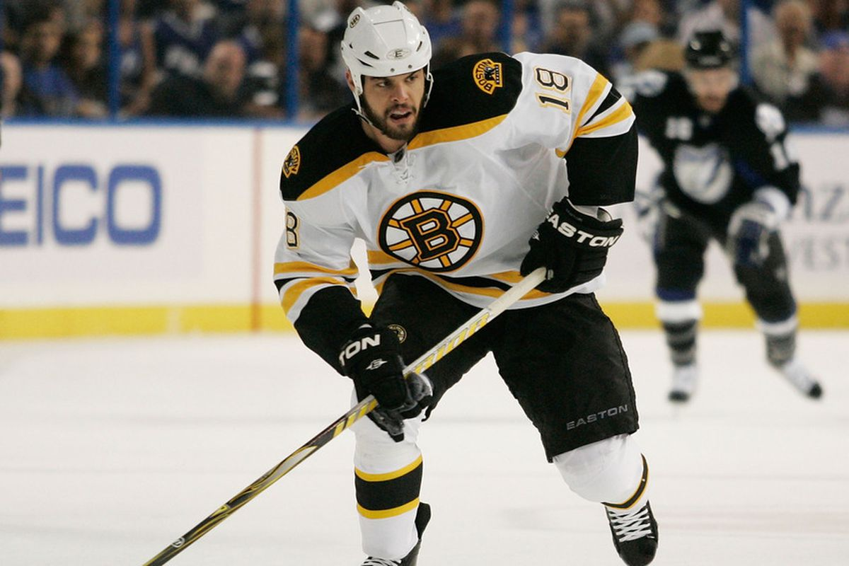 Nathan Horton is healthy and symptom-free after missing the final 36 games of the regular season and playoffs with a concussion last year.