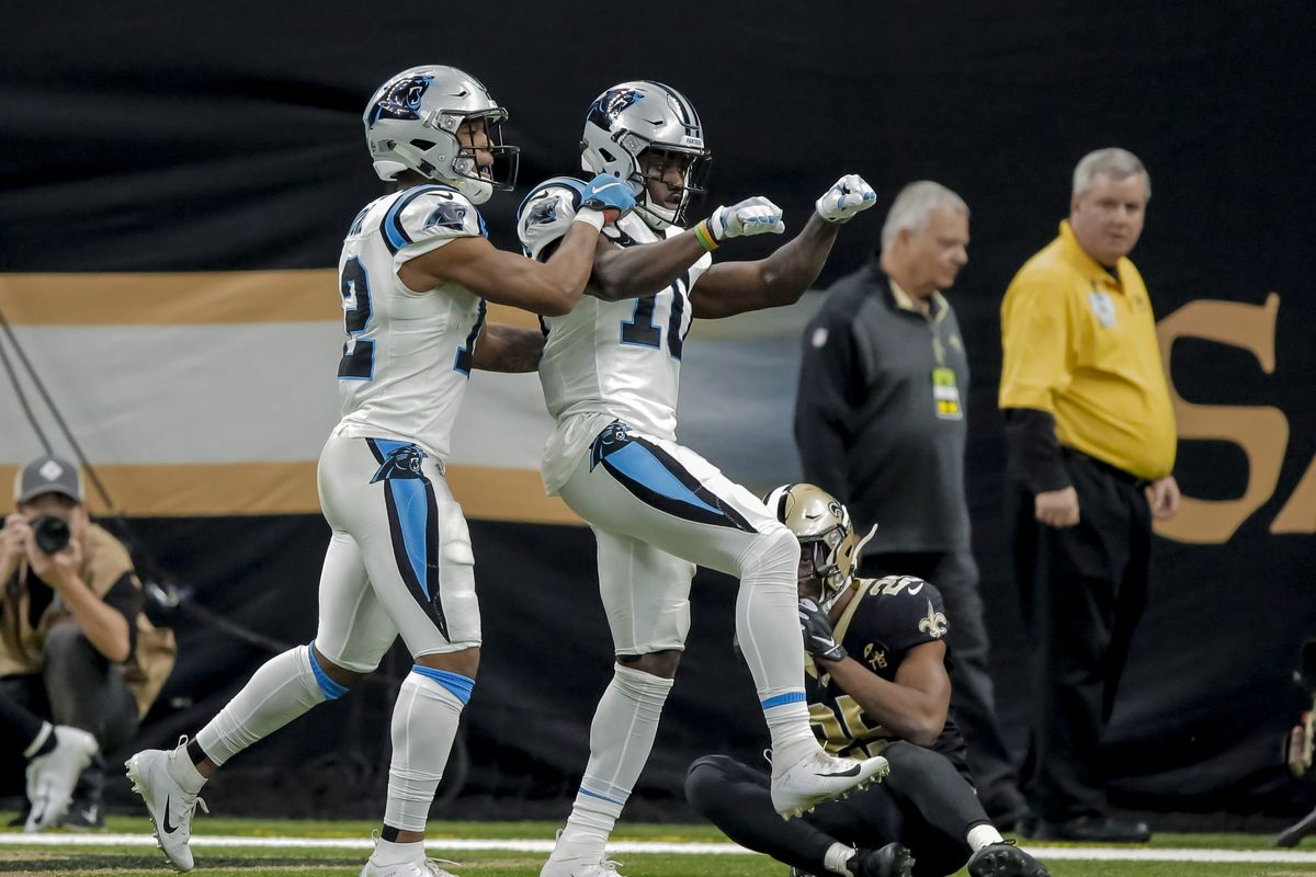buy online bf8c2 9bb5a Carolina Panthers 2018 season review: Wide receivers - Cat ...
