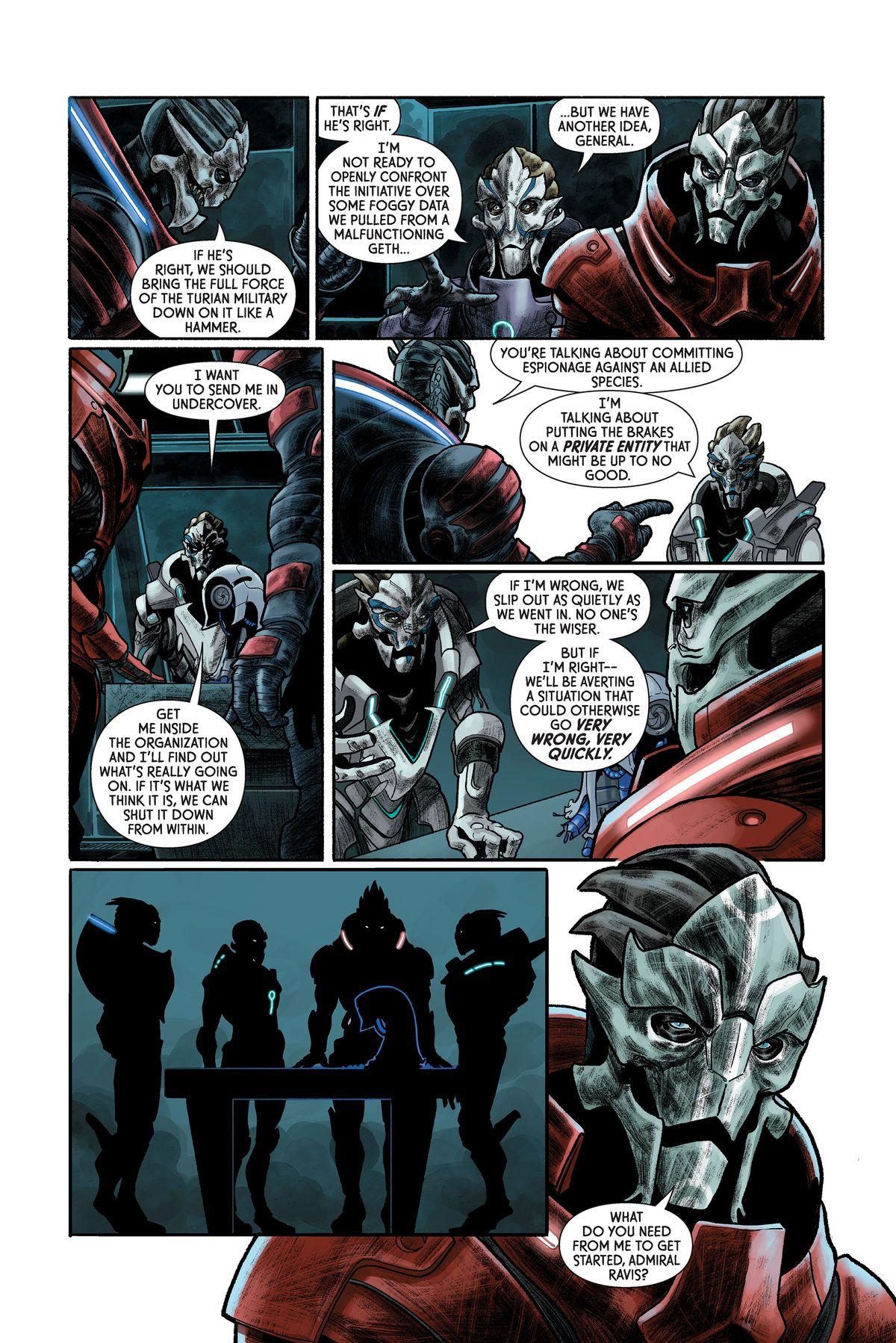 Mass Effect: Discovery, Dark Horse Comics 2017.