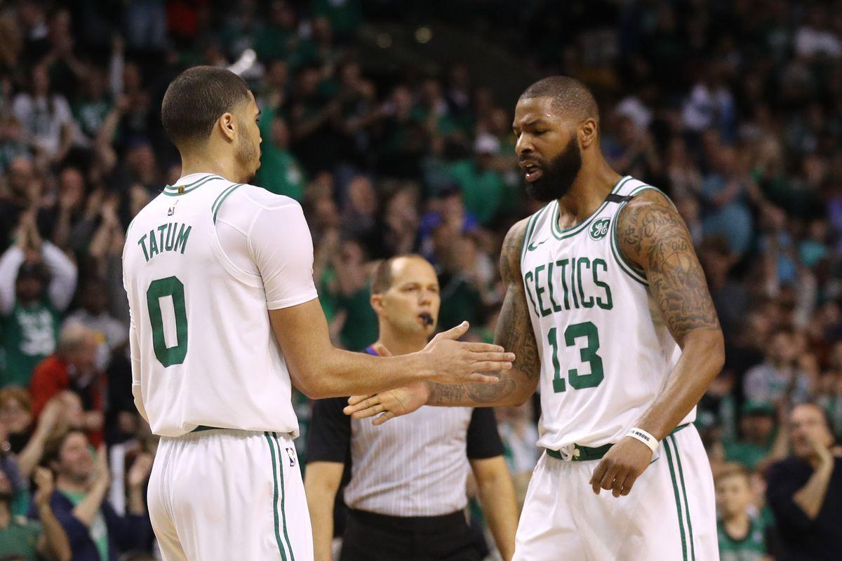 Who is Boston s second All-Star  Jayson Tatum or Marcus Morris  -  CelticsBlog 951678401