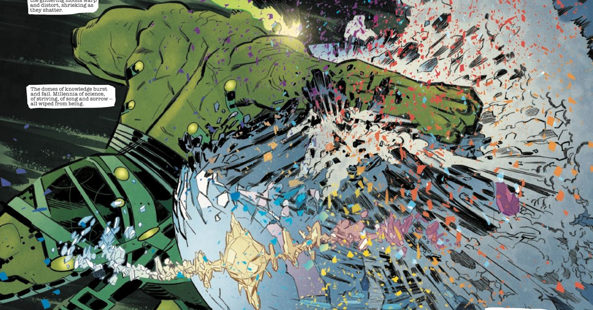 The Hulk snuffed out all life in an entire universe this week