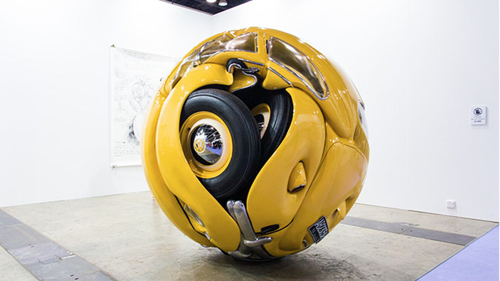 'Beetle Sphere' turns iconic Volkswagen into a giant ...