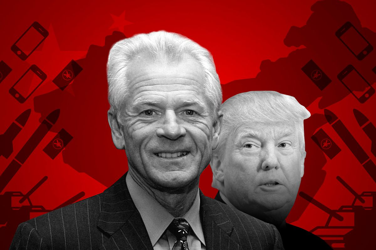 I read Trump's trade adviser's anti-China book  It's wilder than you