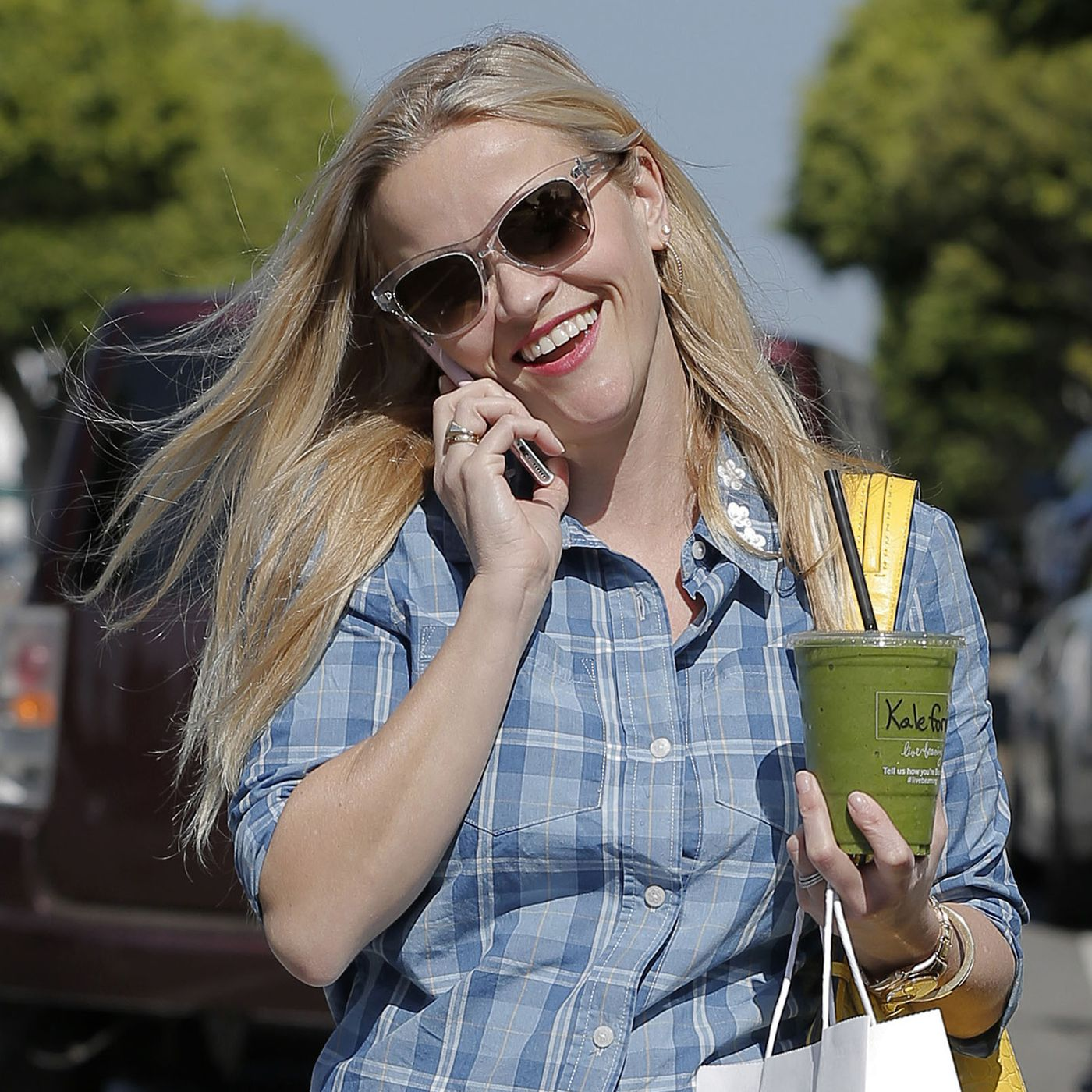 Image result for reese witherspoon smoothie
