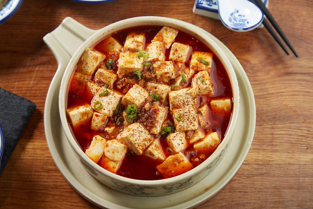Mapo tofu at Szechuan Mountain House