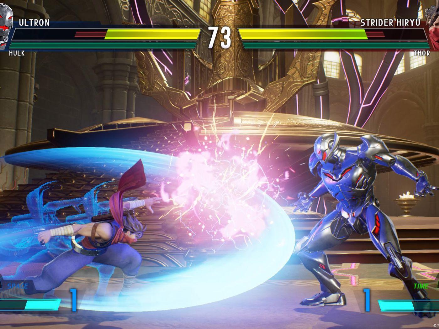 See Marvel Vs Capcom Infinite S Hulk Ultron Chun Li Strider