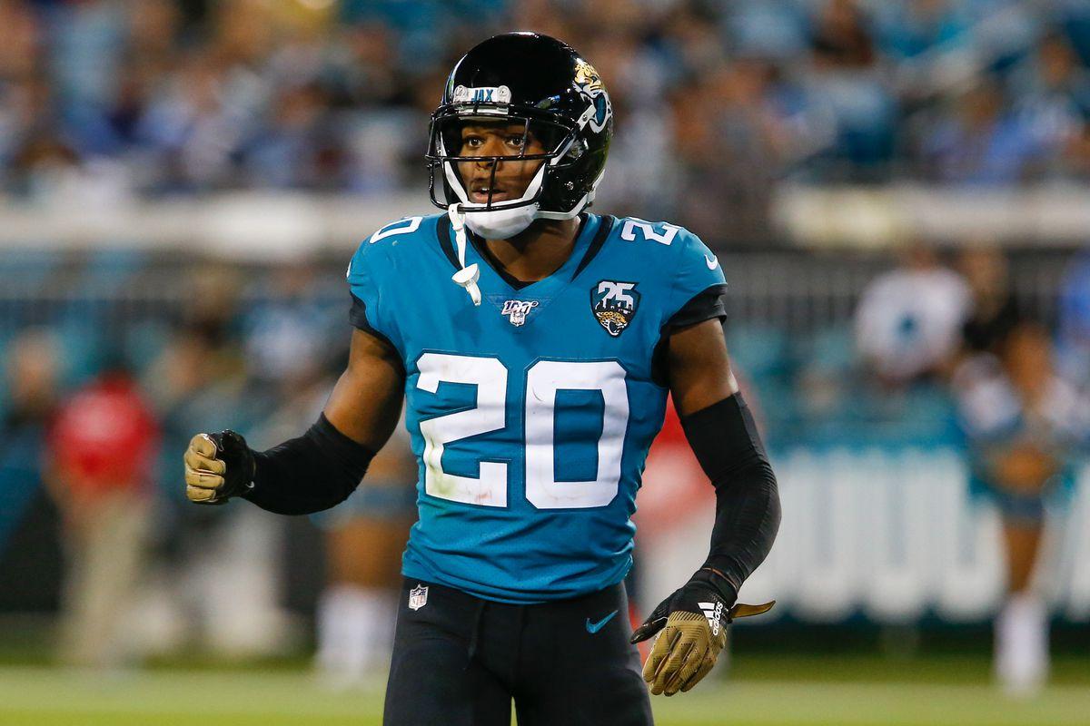 Jacksonville Jaguars cornerback Jalen Ramsey during the second half at TIAA Bank Field.