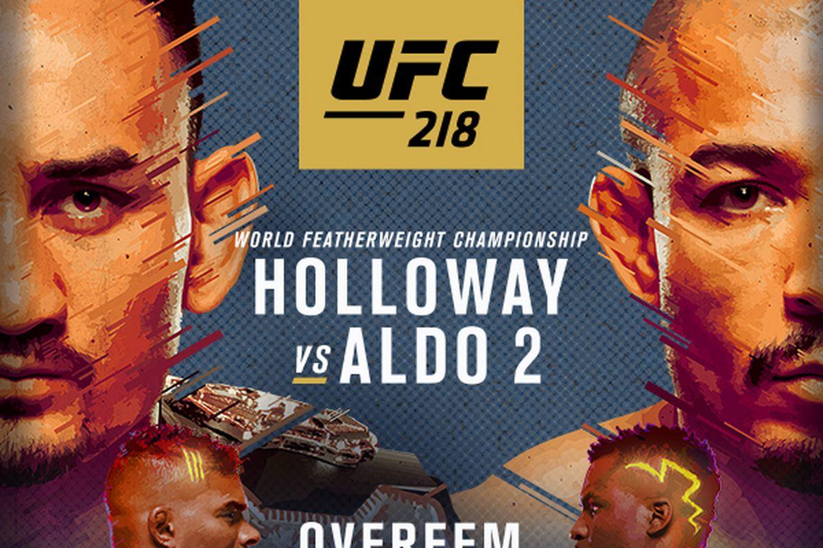 Watch UFC 218: Holloway vs. Al...