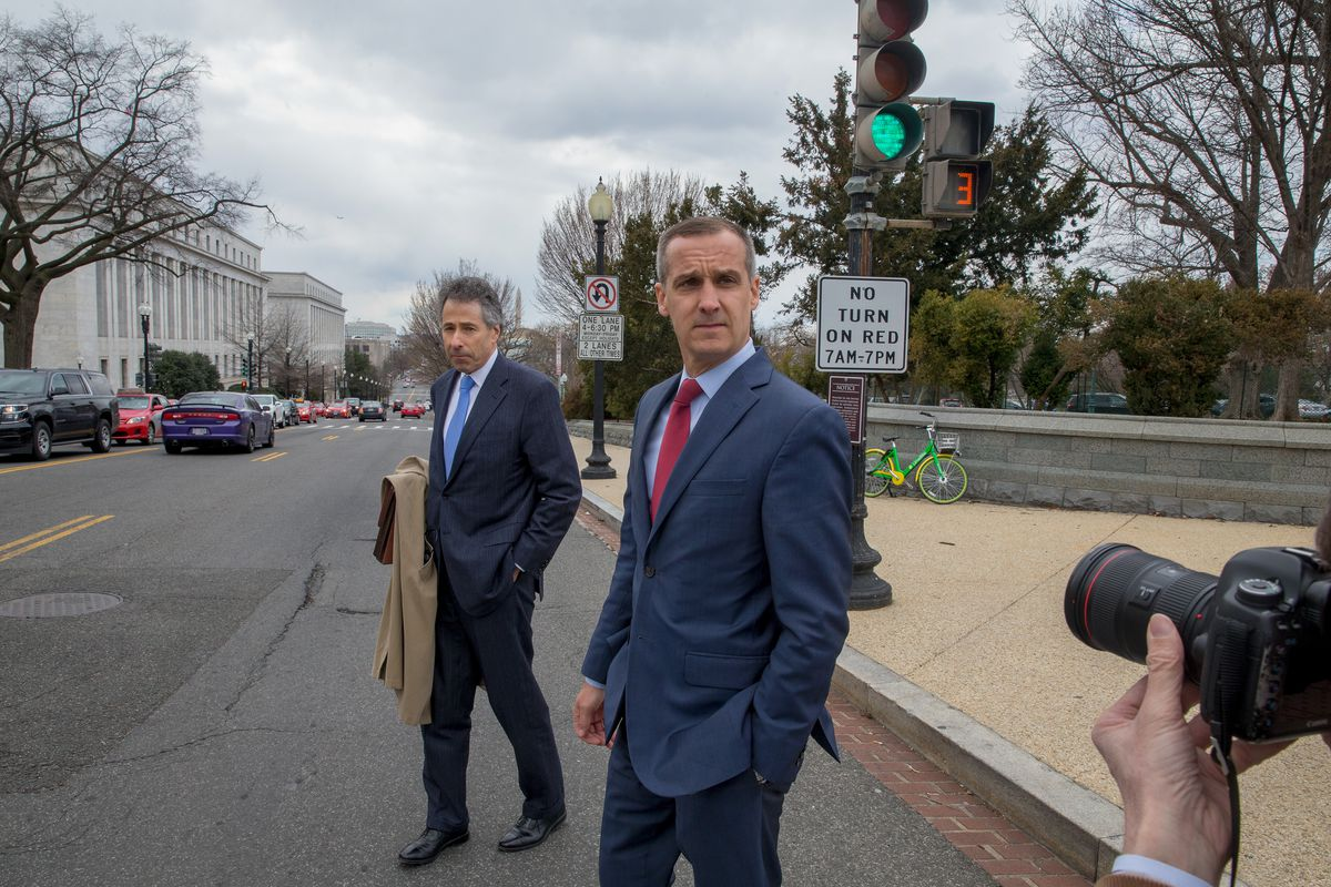 Former Trump Aide Corey Lewandowski To Testify To House Intelligence Committee On Russian Investigation