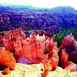 Bryce -- not a canyon