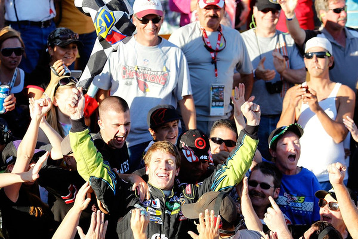 Carl Edwards tops our NASCAR Driver Rootability Rankings for 2011.