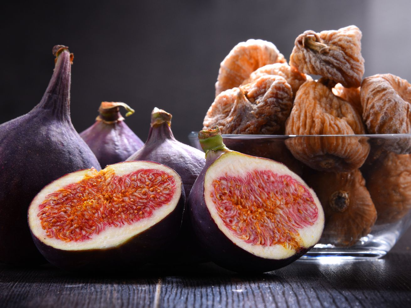 Fresh figs are quite perishable, so plan on eating them shortly after purchase. Choose figs that are rich in color, firm, plump and sweet-smelling. Select dried figs that are somewhat soft, mold-free and have a pleasant fragrance.