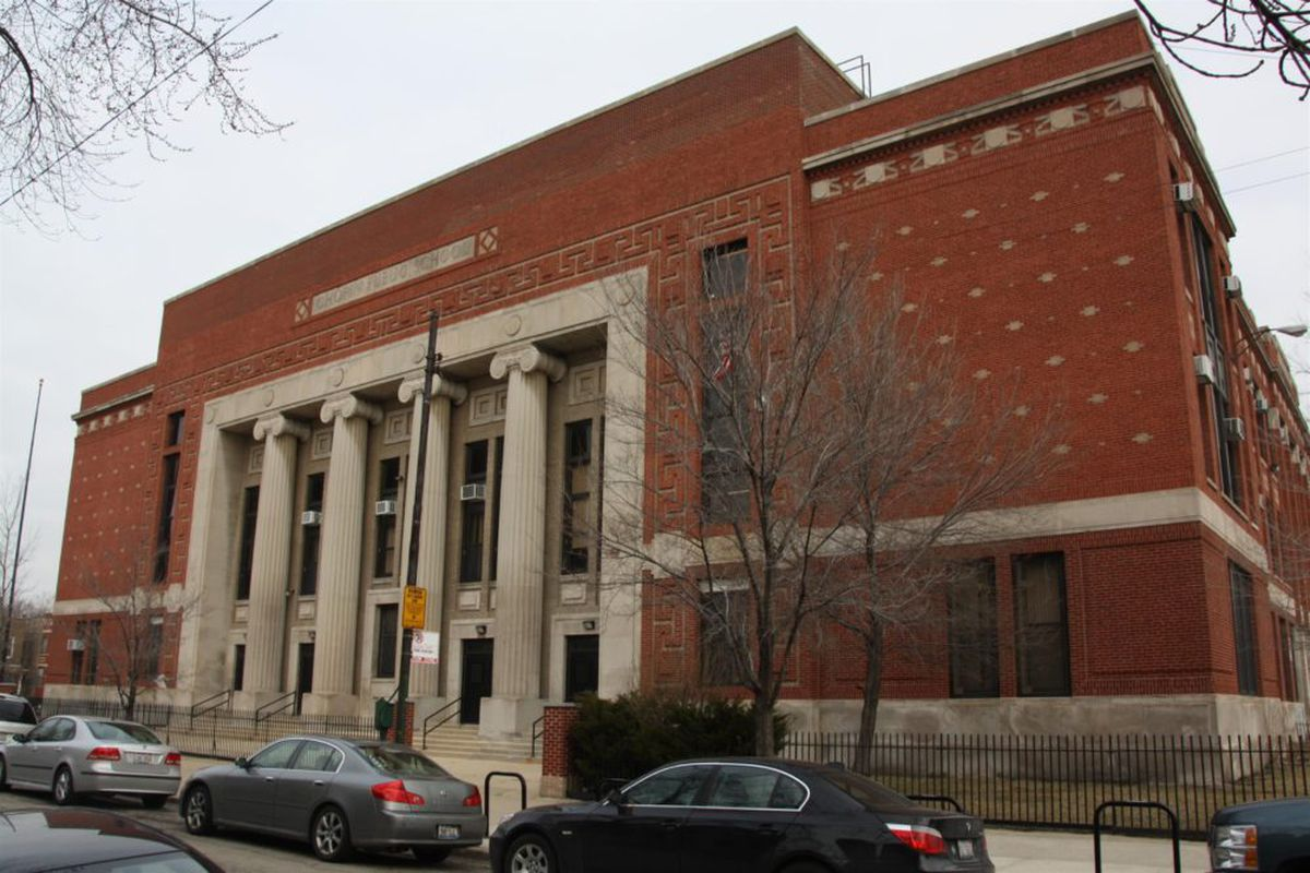 Frederic Chopin Elementary School in Humboldt Park is one of the few Chicago schools scheduled for building improvements as part of the school district's latest capital plan.